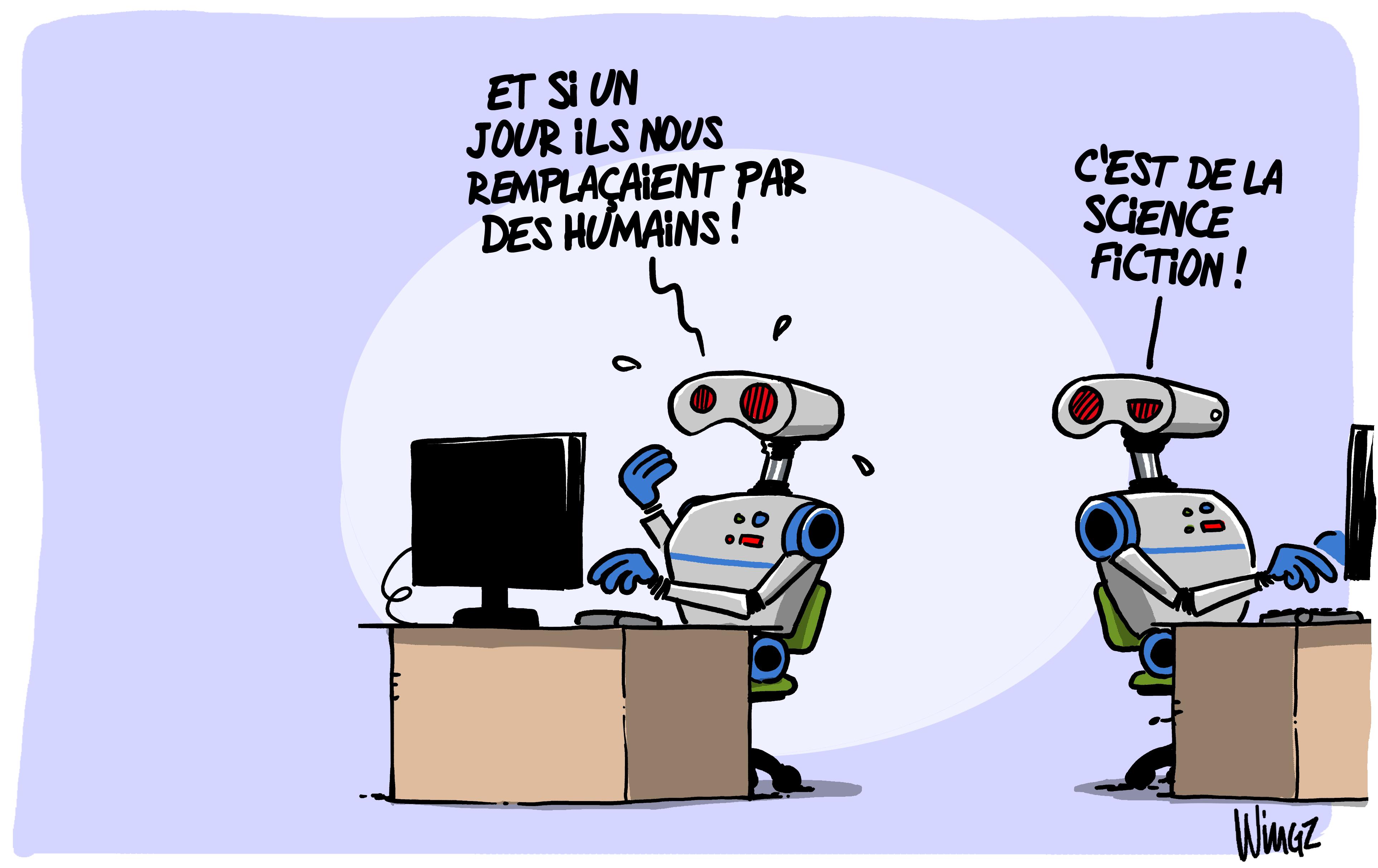 robots   premiers licenciements pour insuffisance professionnelle